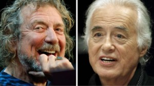 Гітарист Пейдж (праворуч) та вокаліст Плант стверджують, що не копіювали початок пісні Stairway to Heaven