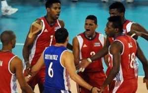 Фото: чоловіча збірна Куби з волейболу