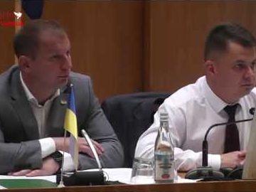 Сесія Тернопільської обласної ради Частина 1