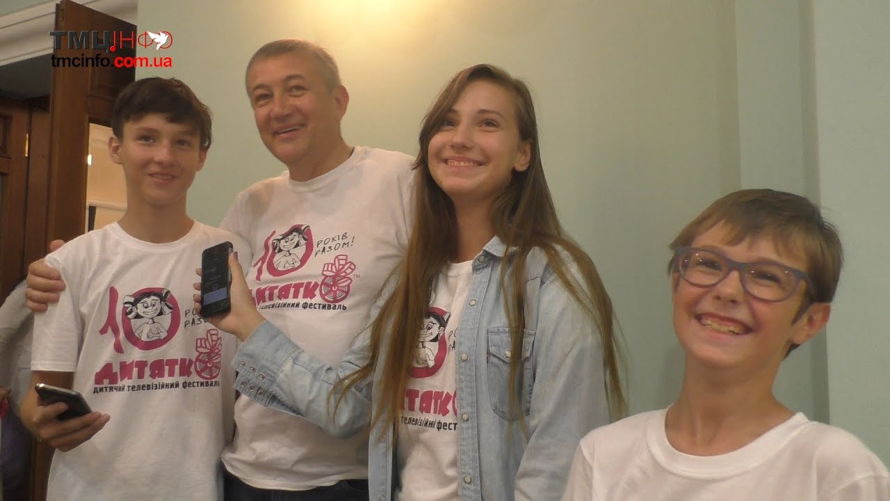 Тернопільські школярі взяли інтерв'ю в голови Харківської обласної ради
