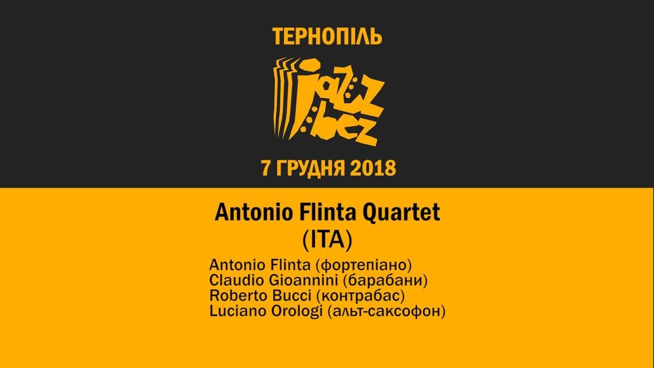 Jazz Bez Тернопіль 2018: Antonio Flinta Quartet