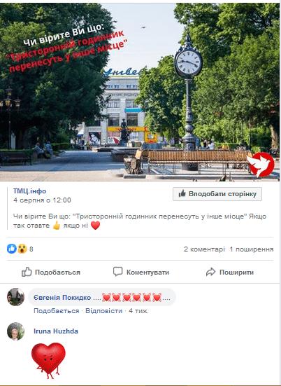 Годинник в Тернополі