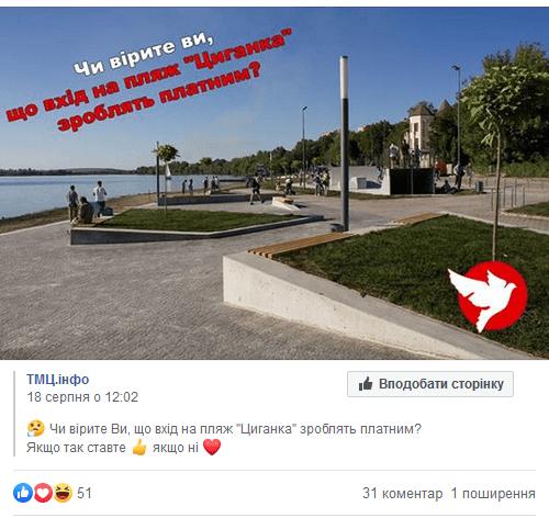 Циганка Тернопіль