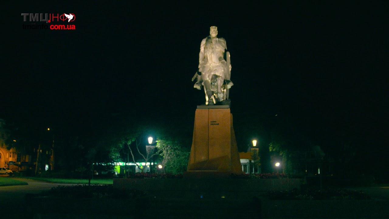 Краса вечірнього Тернополя