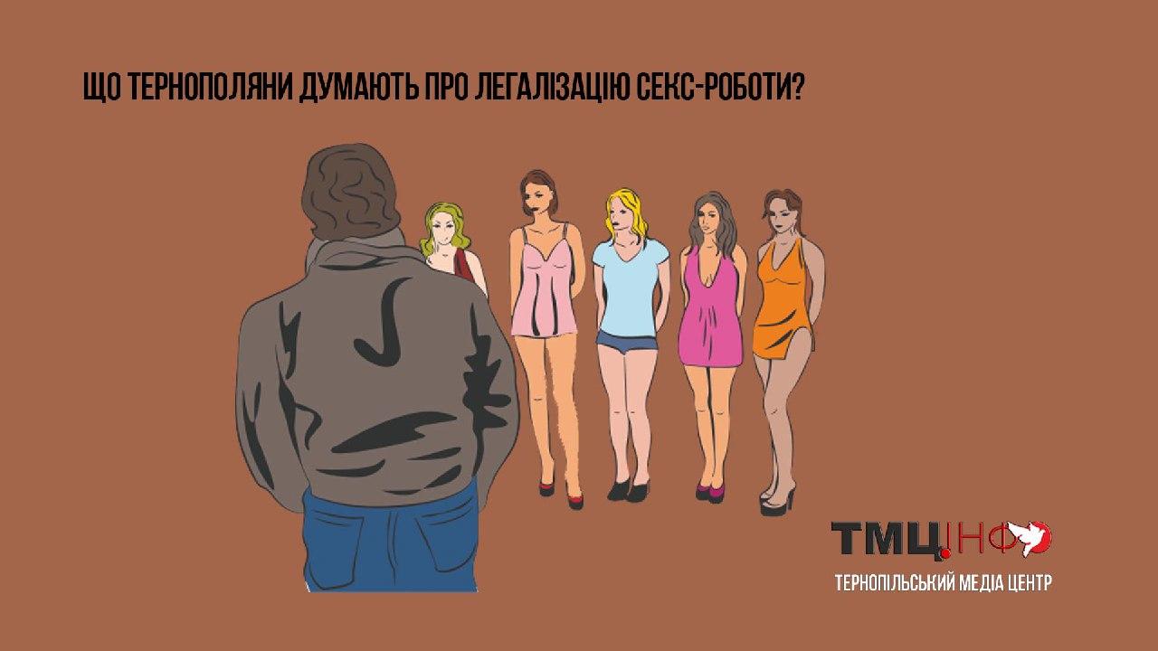 Що тернополяни думають про легалізацію секс-роботи?