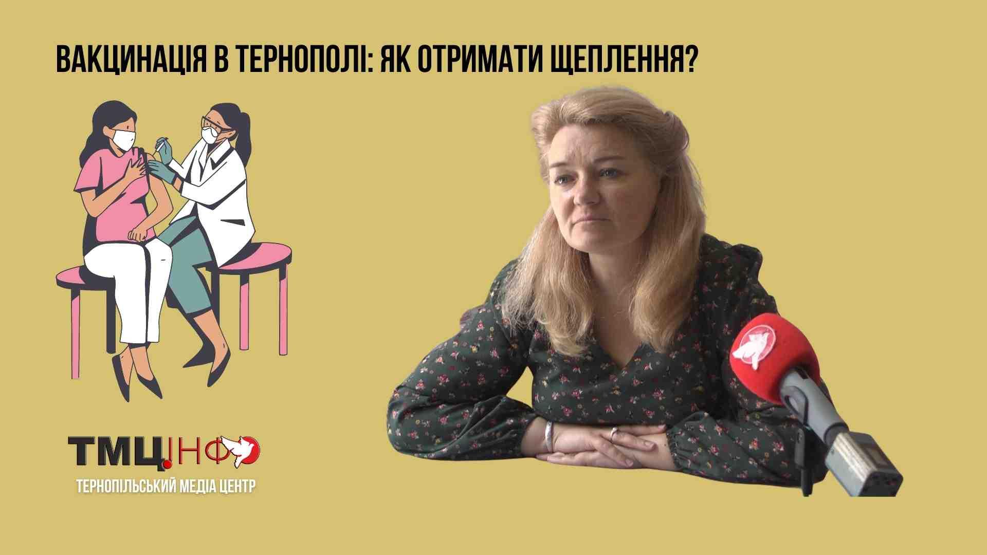 Вакцинація в Тернополі: як отримати щеплення?