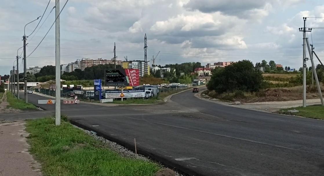 Ремонтують міст на Бережанській