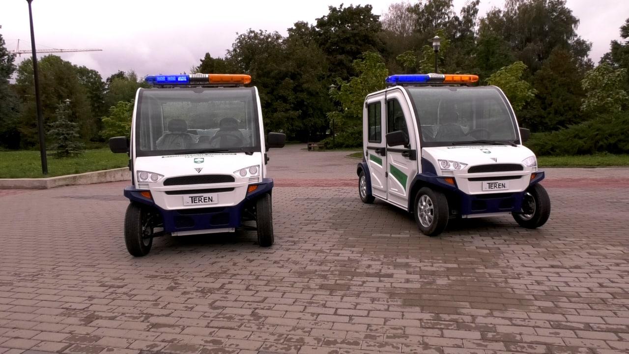 У тернопільських парках муніципали патрулюватимуть на електромобілях