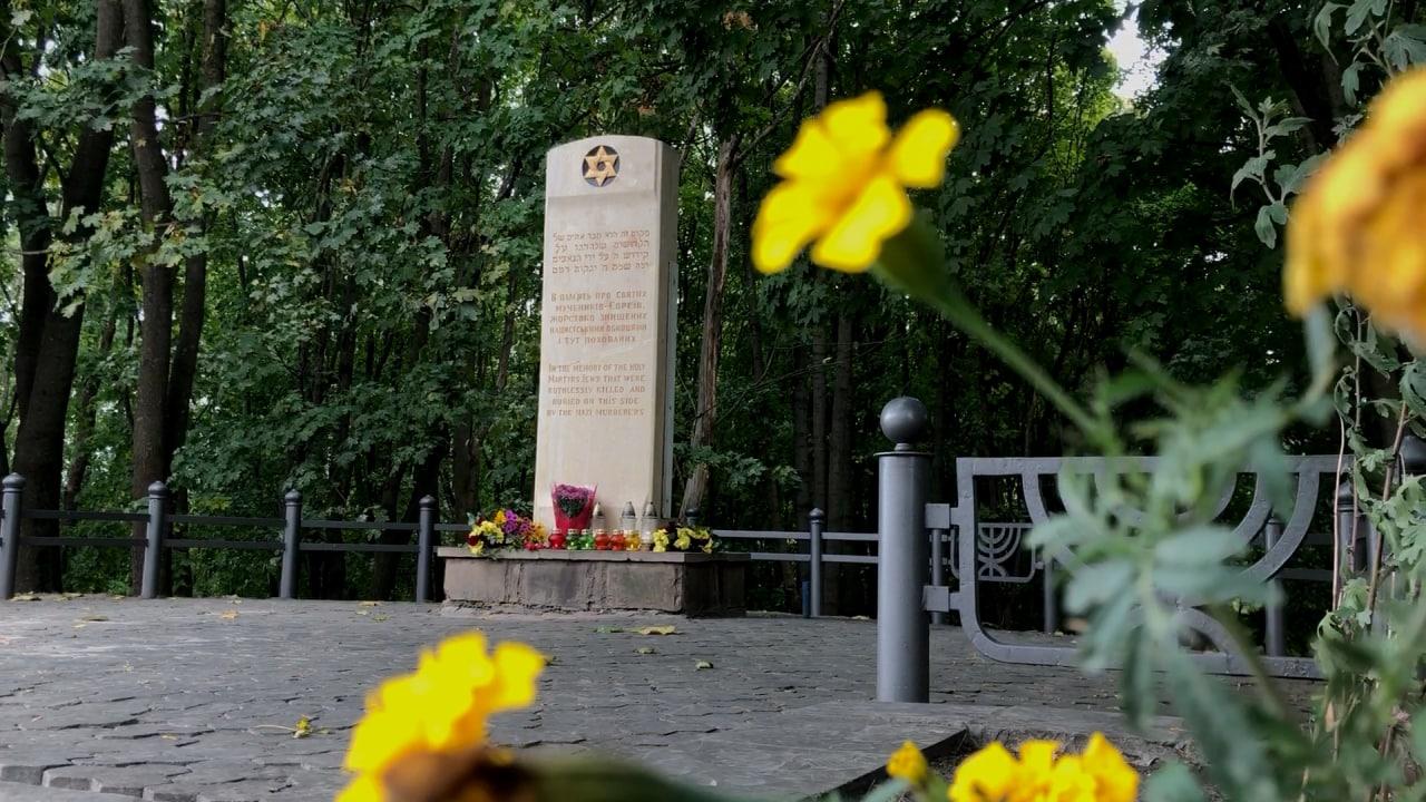 Меморіал загибоим євреям у Петрикові